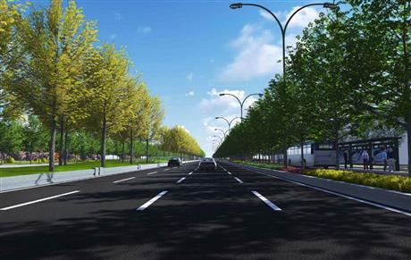 叶县住房和城乡建设局关于叶县法制公园东路提升改造工程